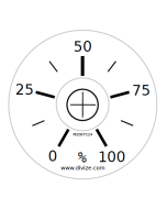 Potentiometer dial